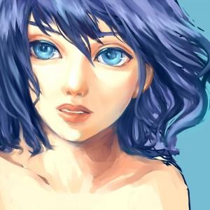 青の無題3